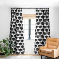 Caroline Okun Majestic Crane Blackout Curtain Panel - 50 X 84
