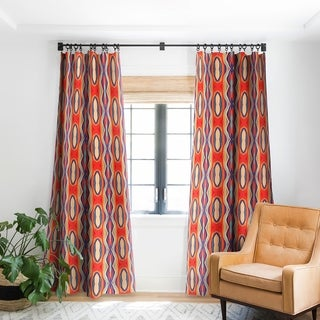 Viviana Gonzalez Psychedelic Pattern 02 Blackout Curtain Panel