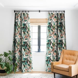 Deny Designs Tropical Blackout Single Curtain Panel - 50 X 84