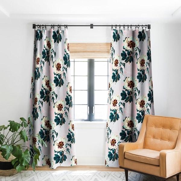 geometric blackout curtains geometric print marta barragan camarasa flowery blooming with geometric blackout curtain panel