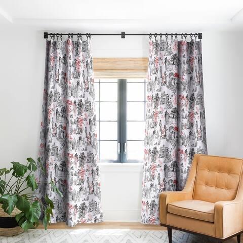 Marta Barragan Camarasa Toile de Jouy Between eras Blackout Curtain Panel