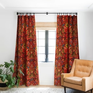 Link to Sharon Turner Aziza Fire Blackout Curtain Panel Similar Items in Curtains & Drapes