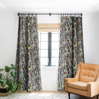 Link to Sharon Turner Festival Droplets Blackout Curtain Panel (As Is Item) Similar Items in As Is