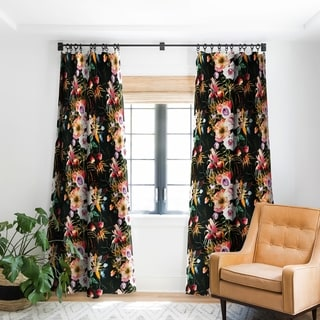 Link to Marta Barragan Camarasa Garden Bouquets Blackout Curtain Panel (As Is Item) Similar Items in As Is
