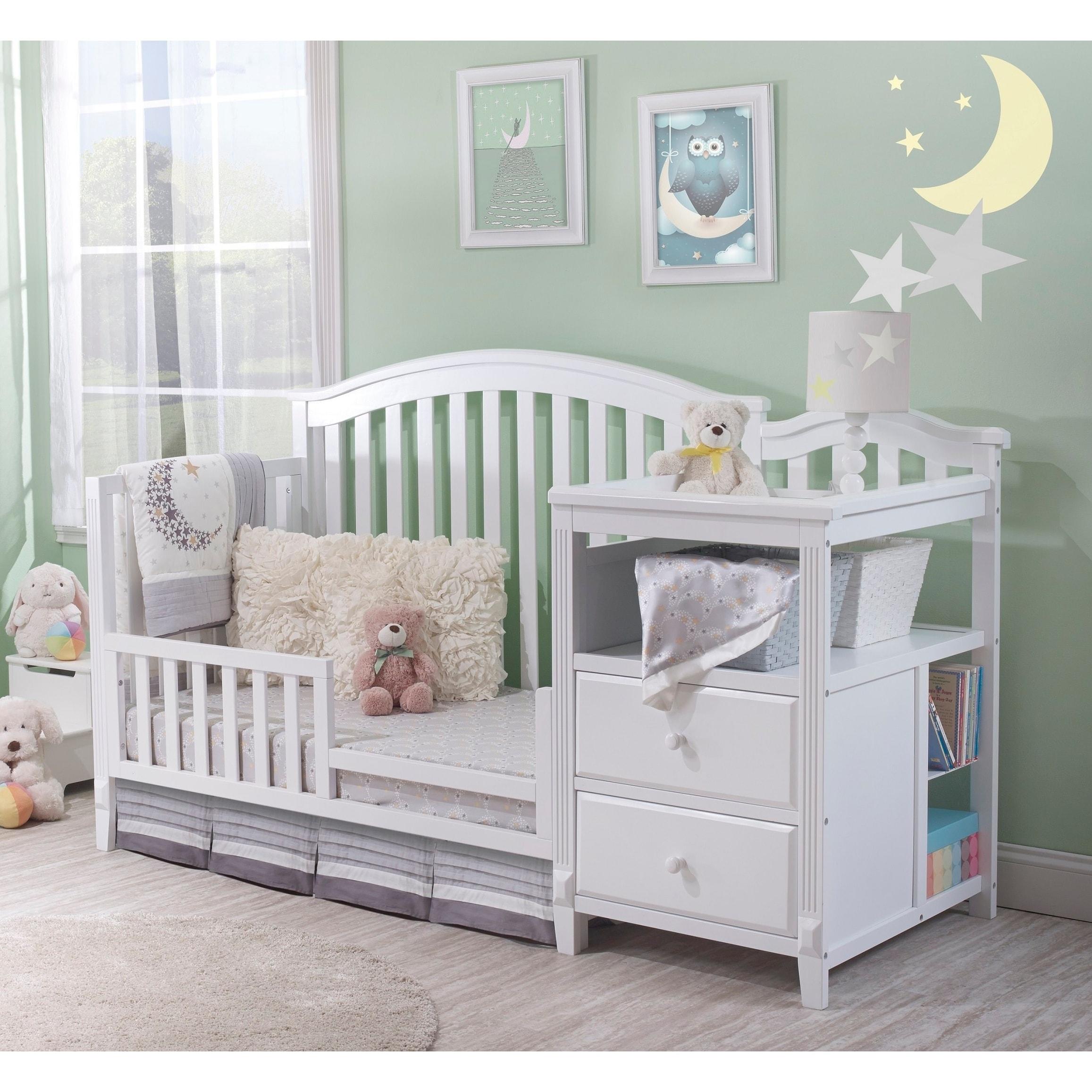 Sorelle Berkley 4 In 1 Crib Changer White Overstock 22047070