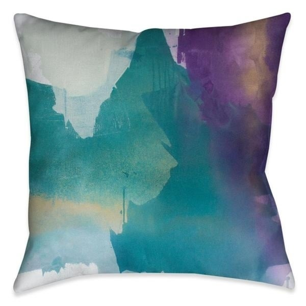Laural Home Delicate Strokes II Indoor Decorative Pillow