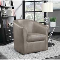 Traditional Champagne Accent Chair