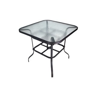 Lynwood Glass-Top Bar-Height Table