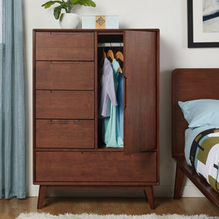 Stone and Stripes Bernadette 1-door 5-drawer Armoire