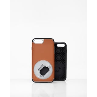 FlippinToad Flip & Hold Case Tan-iphone 7 plus & 8 plus