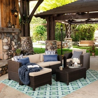 Wicker Patio Furniture | Find Great Outdoor Seating U0026 Dining Deals Shopping  At Overstock.com