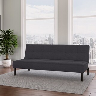 CorLiving Convertible Futon Sofa Bed with Textured Mattress