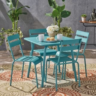 Lacina Outdoor 5 Piece Dining Set by Christopher Knight Home