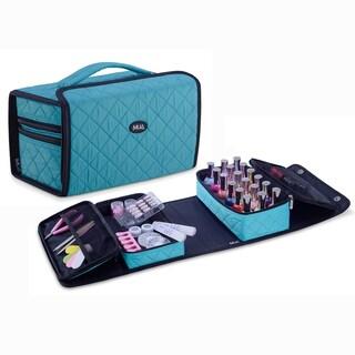 KIOTA Nail Polish Manicure Set Soft Storage Cosmetic Case Makeup Bag (Option: BLue)