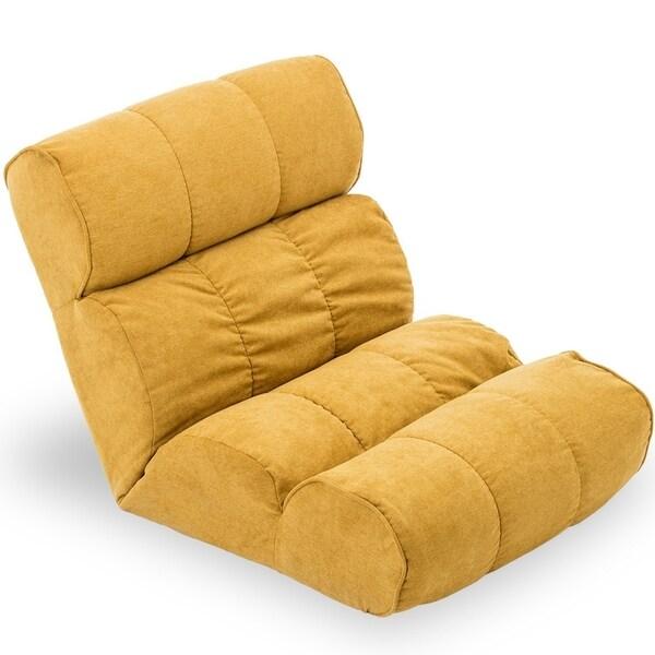Shop Bonzy Floor Chair Folding Lazy Sofa Amp Adjustable