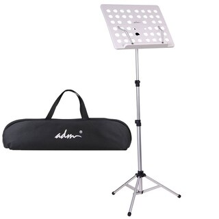 ADM Foldable Extra Light Small Music Stand, Silver