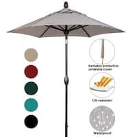 SORARA Patio Umbrella Outdoor Market Table Umbrella,7-1/2 Feet, Beige