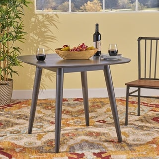 Link to Wynonna Mid Century Modern Square Faux Wood Dining Table by Christopher Knight Home Similar Items in Dining Room & Bar Furniture