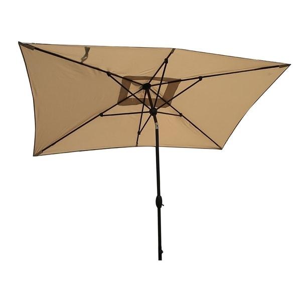 Shop Sorara Patio Umbrella Rectangular Outdoor Market