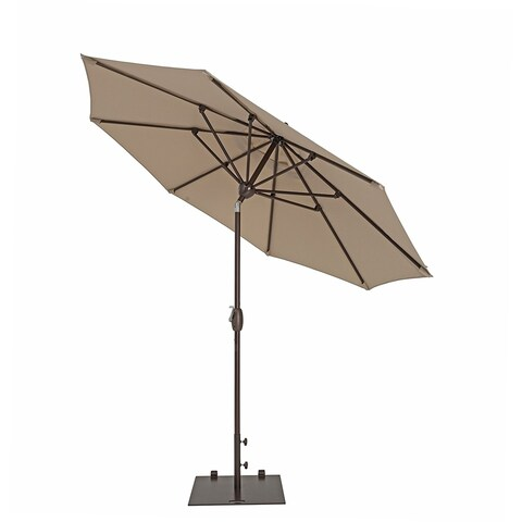 SORARA Patio Umbrella 11 Feet Outdoor Table Market Umbrella,Beige