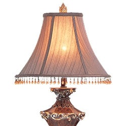 Tuscany Beaded Shade Table Lamps (Set of 2) - Thumbnail 1