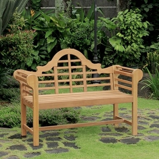 Link to Cambridge Casual Lutyens 4ft Teak Bench Similar Items in Patio Furniture