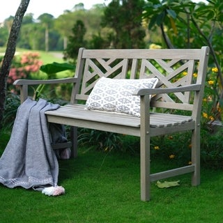 Remarkable Buy Outdoor Benches Online At Overstock Our Best Patio Dailytribune Chair Design For Home Dailytribuneorg