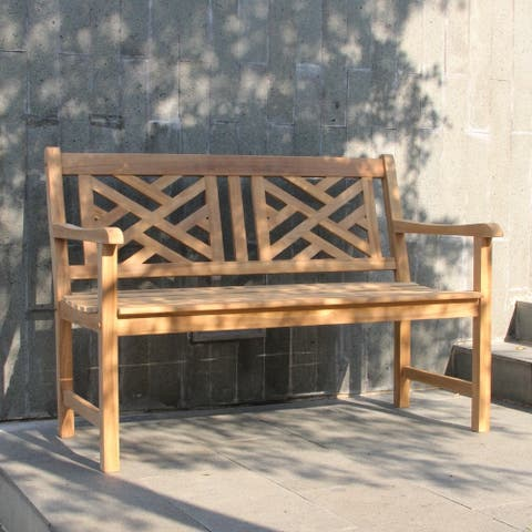 Cambridge Casual Isla 4ft Teak Patio Bench