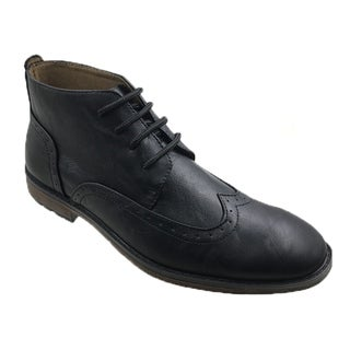 MECCA ME-9002 HARRY Men's Wing Tip Chukka Boots