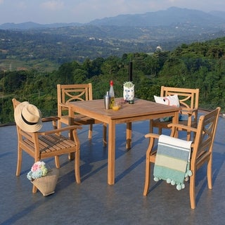 Cambridge Casual Bardin 5pc Square Table Dining Set
