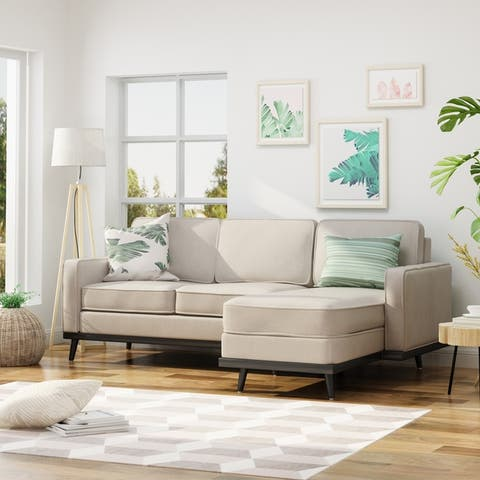 Buy Beige, Modern & Contemporary Sectional Sofas Online at Overstock ...
