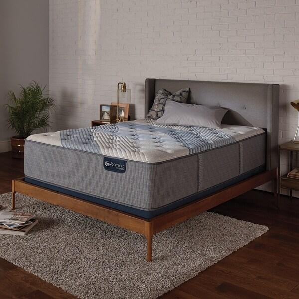 Shop iComfort Hybrid Blue Fusion 3000 15 inch Plush Full size