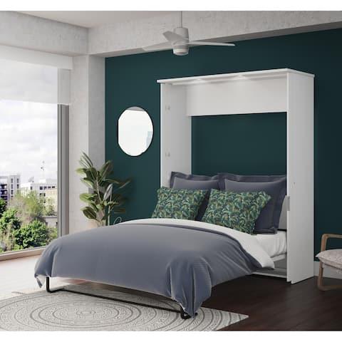 Bestar Lumina Queen Wall Bed in White