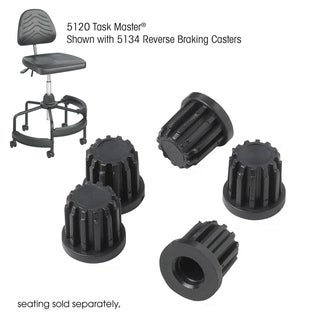 Safco Tubular Chair Base Inserts - Set of 5