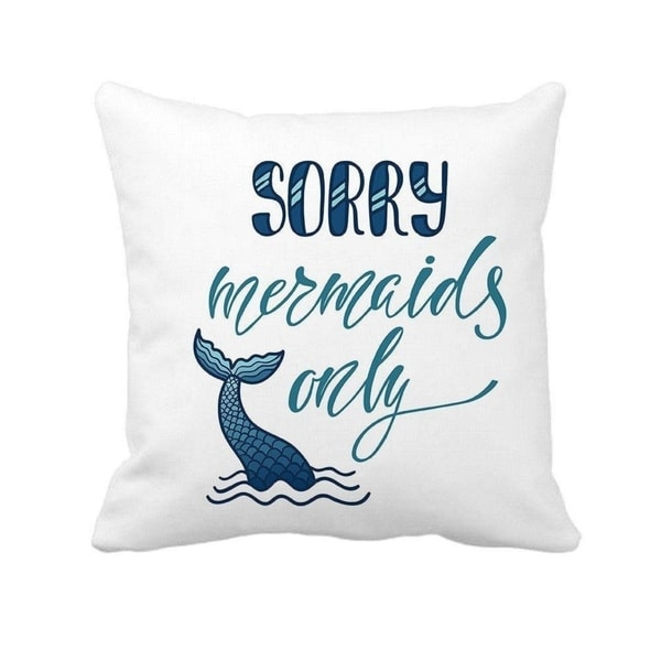 Shop Quotes Beach Decor Cushion Case For Sofa Couch 18 X 18 On
