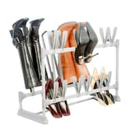 Simplify 12 Pairs of Shoe & 3 Pairs of Boot Organizer