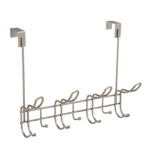 Simplify Over the Door 11 Hanger Hook in Satin