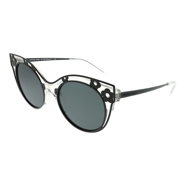 359e21dbd0 Michael Kors Cat-Eye MK 1038 Melbourne 305087 Woman Crystal Clear Frame  Grey Lens Sunglasses