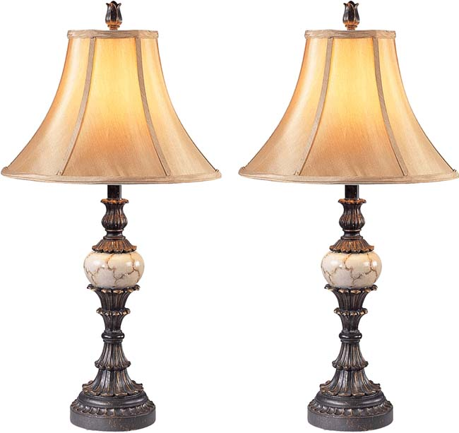 sevilla traditional table lamps set of   free shipping today, Bedroom decor