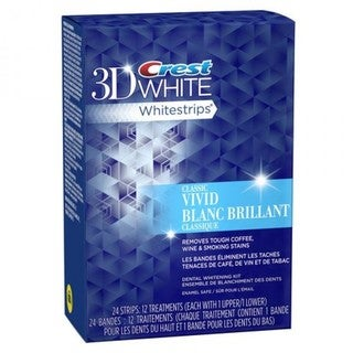 Crest 3D White Classic Vivid Strips 24 Strips (12 Treatments)