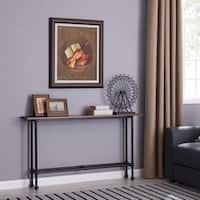 Carbon Loft Northrup Black/Espresso Console Table
