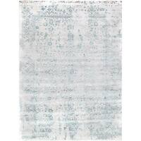 """Pasargad Transitiona Collection Hand-Knotted Bamboo Silk & Wool Area Rug- 10' 1"""" X 13' 8"""""""