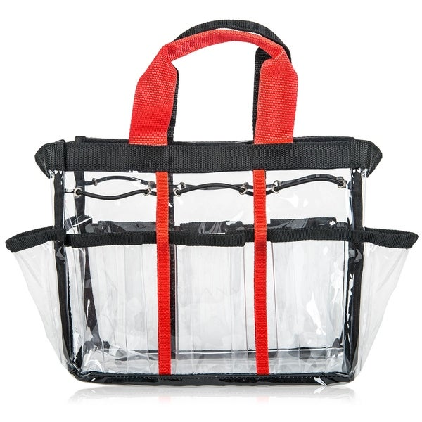 SHANY Clear Travel Makeup Bag - Cosmetics Organizer - Ready Set. Opens flyout.