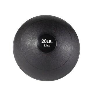Body Solid Tools BSTHB20 - 20lb Slam Ball - Black
