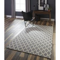 Momeni Andes Hand Woven Viscose and Wool Area Rug - 6' x 9'