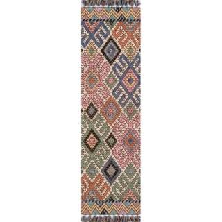 """Momeni Tahoe Hand Tufted Wool Multi Runner - 2'3"""" x 8' Runner"""