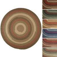 Jamestown 4' Round Braided Rug