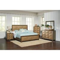 Wheatland Transitional Sage and Antique Gold Bed