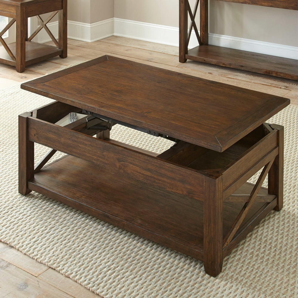 - Shop Luka Lift Top Coffee Table With Casters By Greyson Living