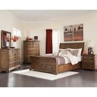 Elk Grove Rustic Vintage Bourbon Bed